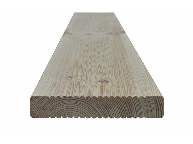Rýhovaná prkna - douglaska 27x143x4000 mm