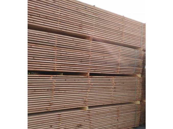 Stavební prkna 24x100x4000 mm impreg.