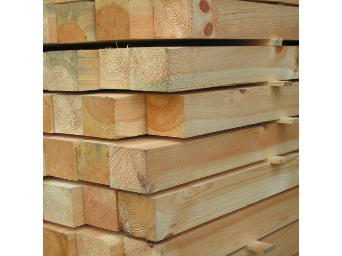 Stavební hranol 80x80x4000 mm