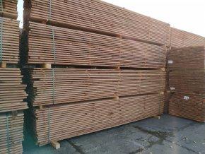 Stavební prkna 24x80+x4000 mm impreg.