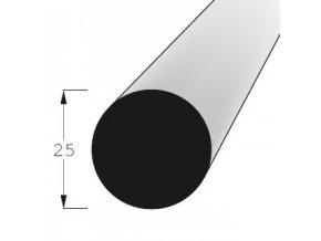 Lišta kruhová KR 25 SM/240 nast.