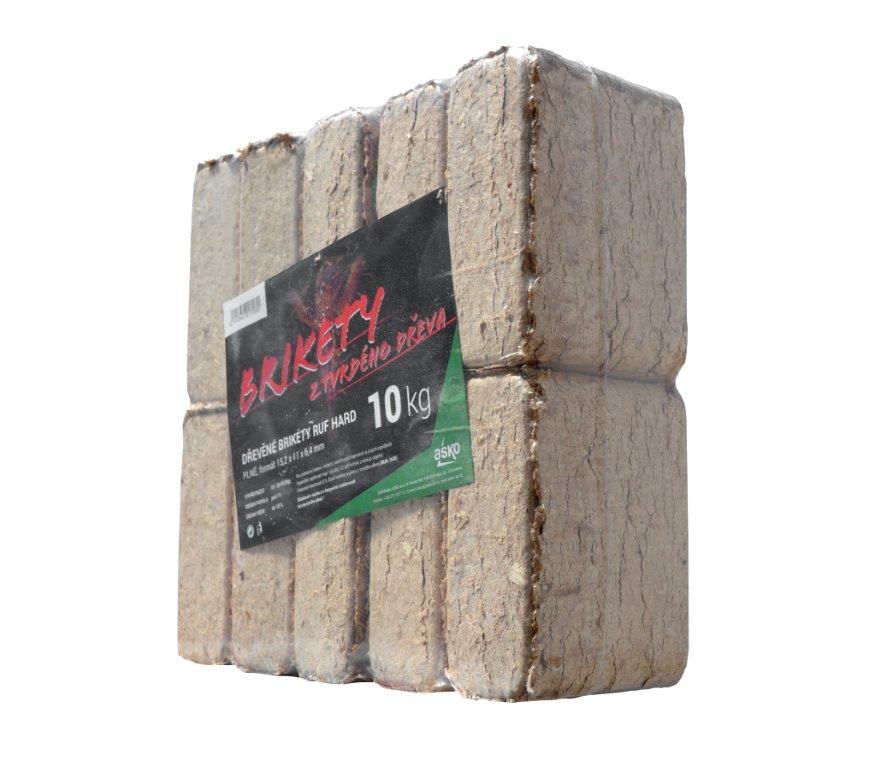 Dřevěné brikety RUF hard