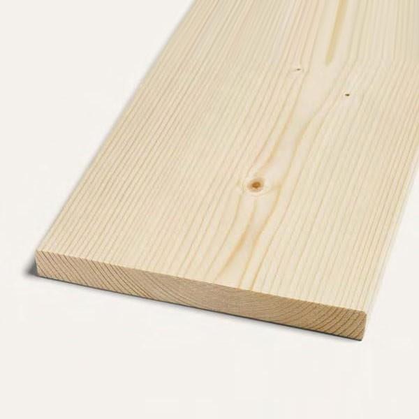 Hoblovaná prkna smrk A/B 19x100 mm Délka: 3000 mm