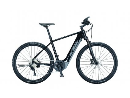 021347111 MACINA CROSS 620 H 51cm metallic black grey blue