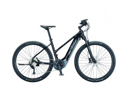 021347206 MACINA CROSS 620 D 46cm metallic black grey blue