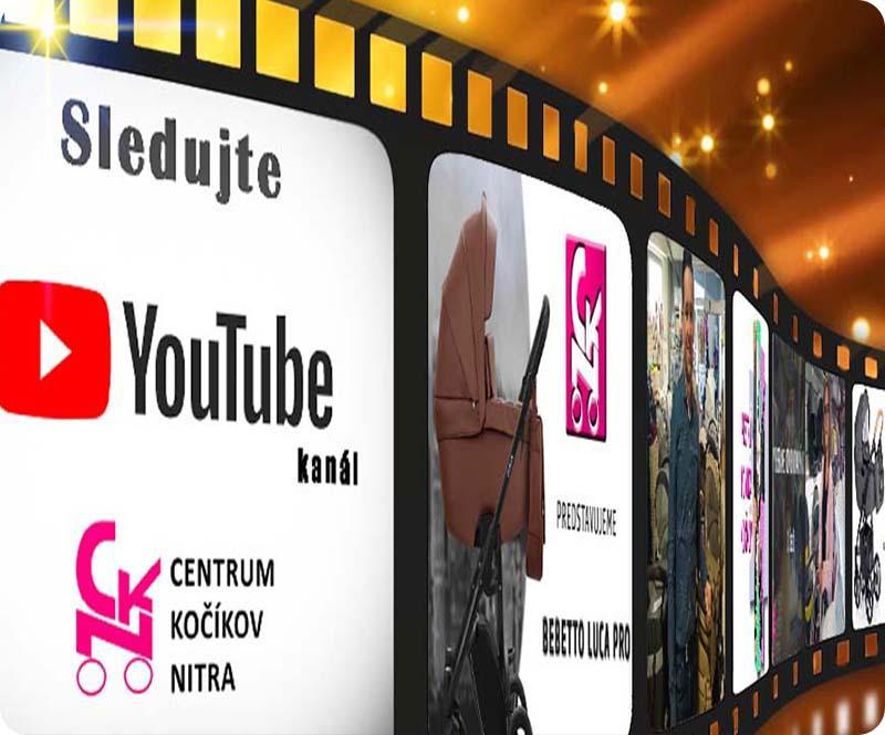 Sledujte náš Youtube kanál a buďte v obraze!