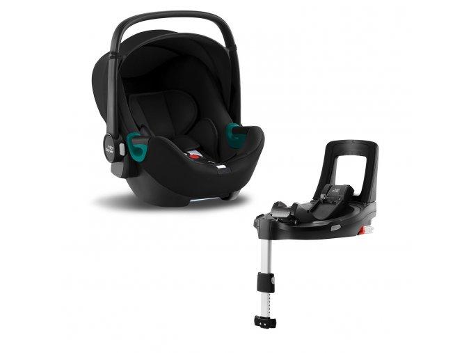 Baby-Safe 3 i-Size + Bundle Flex iSense