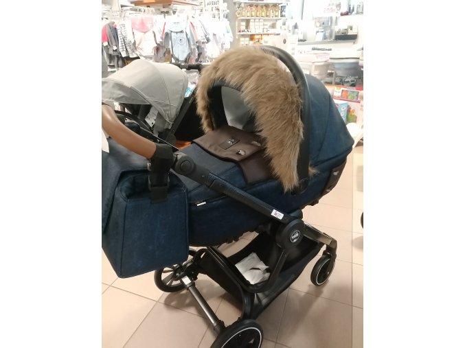 Univerzálna kožušina na kočík - Hnedá