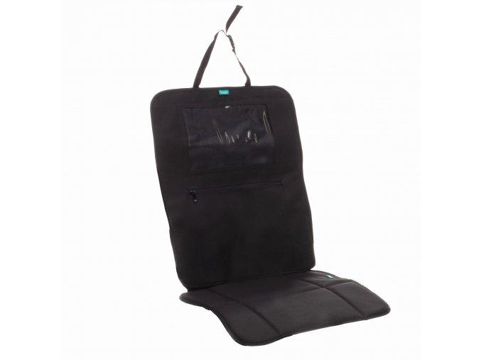 Ochrana sedadla pod autosedačku s kapsou na tablet