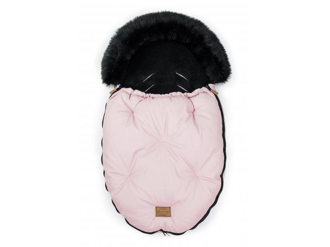 Fusak ALASKA - ružový/čierny