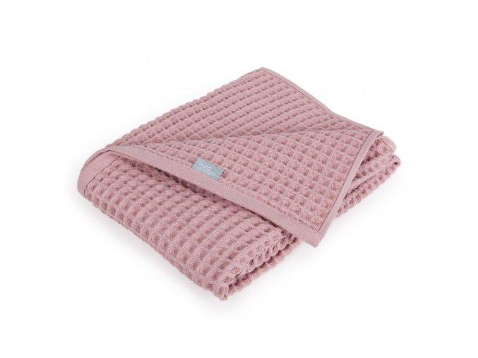 Detská deka WAFFLE LINE - pink