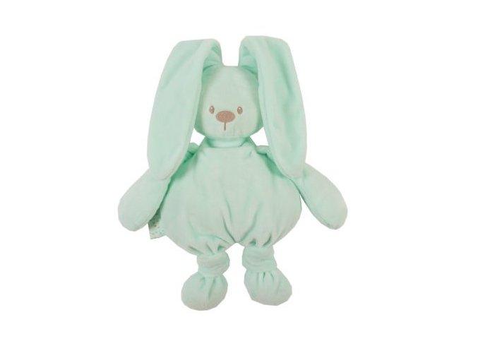 Plyšová hračka zajačik cuddly - mint 36 cm