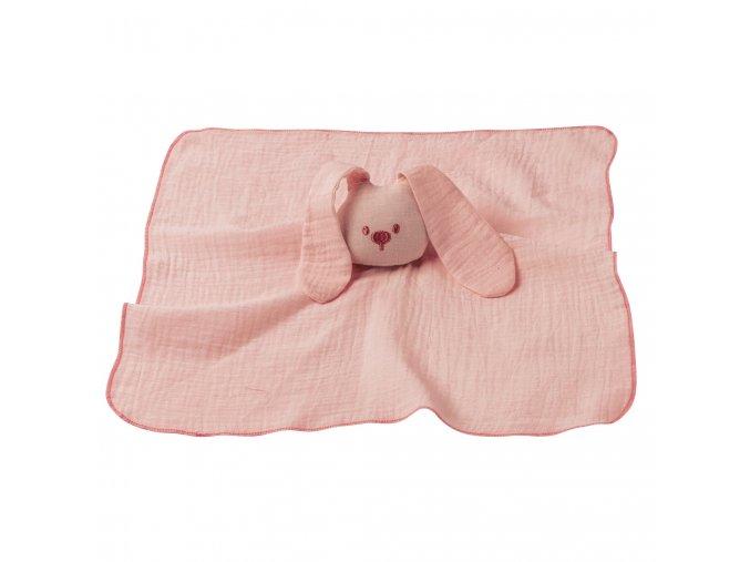 Maznáčik bavlnený - old pink 44x44 cm