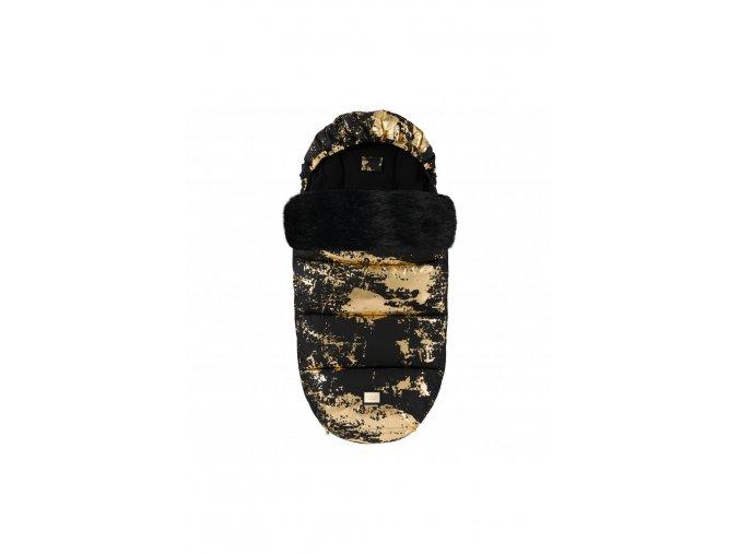 585 footmuff black golden