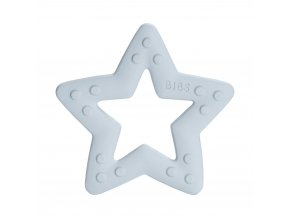 BIBS Baby Bitie Hryzatko Kousatko Star BabyBlue – kópia