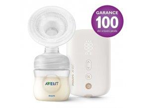 Philips AVENT Odsávačka materského mlieka elektronická nabíjacia SCF396