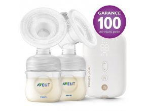 Philips AVENT Odsávačka materského mlieka elektronická nabíjacia DUO SCF398