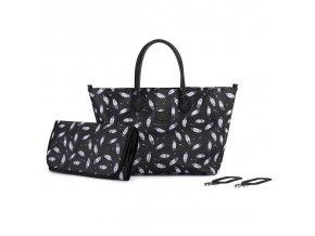 KINDERKRAFT Taška prebaľovacia Mommy Bag Black