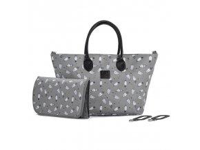KINDERKRAFT Taška prebaľovacia Mommy Bag Grey