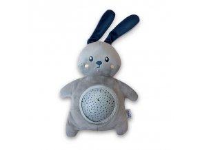 PABOBO Projektor s melódiou zajačik Soft Plush