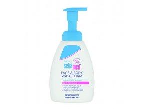 SEBAMED Detská umývacia pena na telo a na tvár (400 ml)