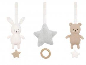 n0144 baby gym toy teddy bunny