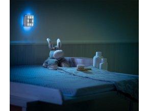Reer LED nočné svetlo so senzorom štvorcové