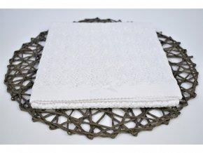 Letná pletená deka - Mašlička
