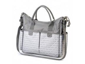 Prebaľovacia taška SO CITY - gray