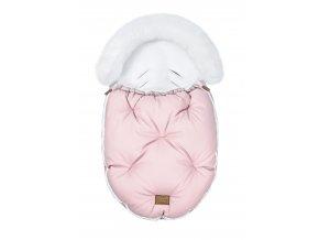 Fusak ALASKA - ružový/biely
