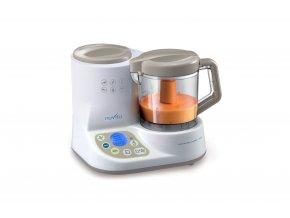 Robot + ohrievač fliaš + sterilizátor