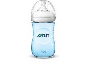 Avent fľaša 260ml Natural.2 PP modrá