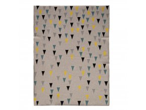 Deka Harmony Happy Triangles 100% bavlna 80x100 cm