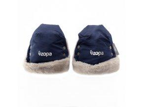 Zopa rukavice Fluffy - royal blue