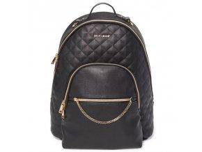 Taška prebaľovacia/batoh Linx Quilted Backpack - Black