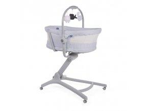 Postieľka/lehátko/stolička Chicco Baby Hug Air 4v1 Stone