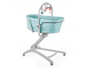 Postieľka/lehátko/stolička Chicco Baby Hug 4v1 - Aquarelle