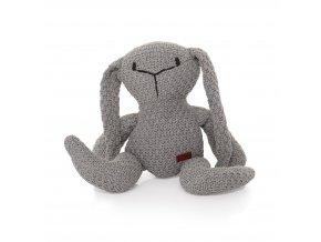 Pletená hračka Zajac