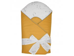 printed cotton swaddle blanket with coconut (3)