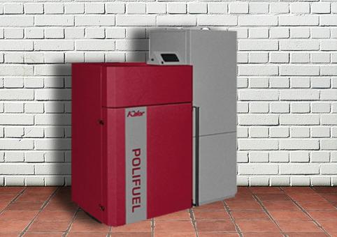 Co všechno umí automatický kotel na pelety a biomasu Kalor Polifuel