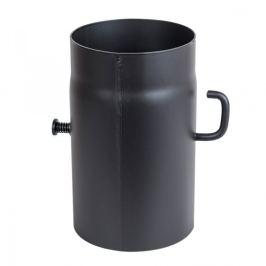 Černé ocelové kouřovody 2 mm