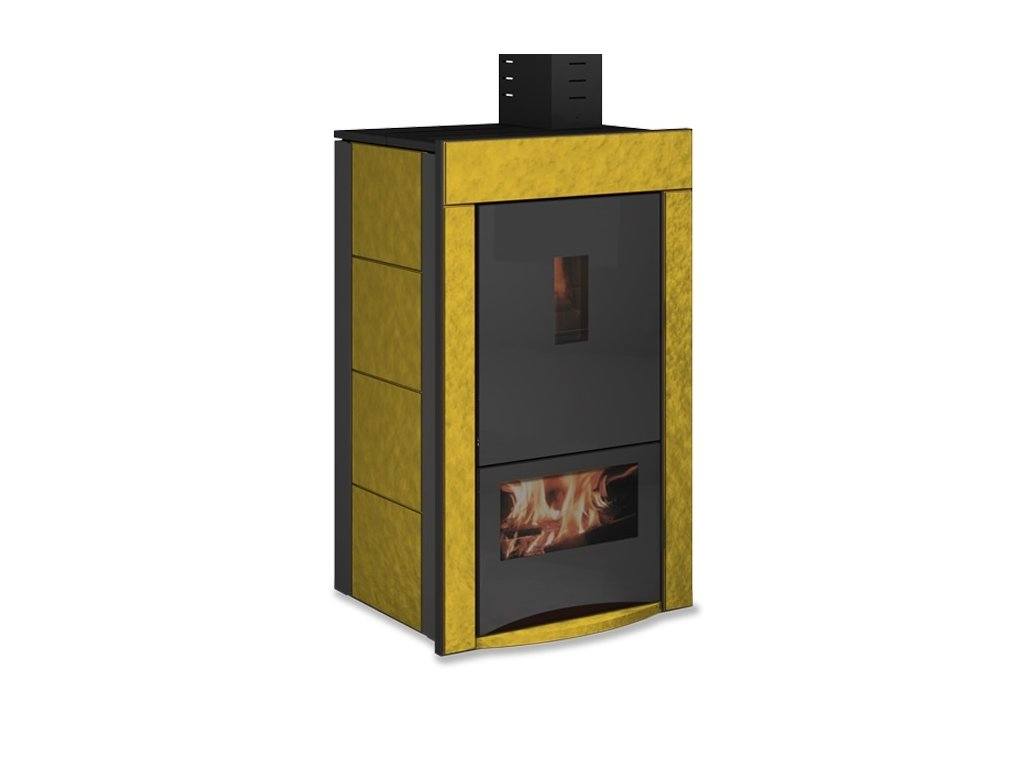 UNGARO BI FUEL CLASSIC - Krbová kamna na dřevo a pelety s výměníkem