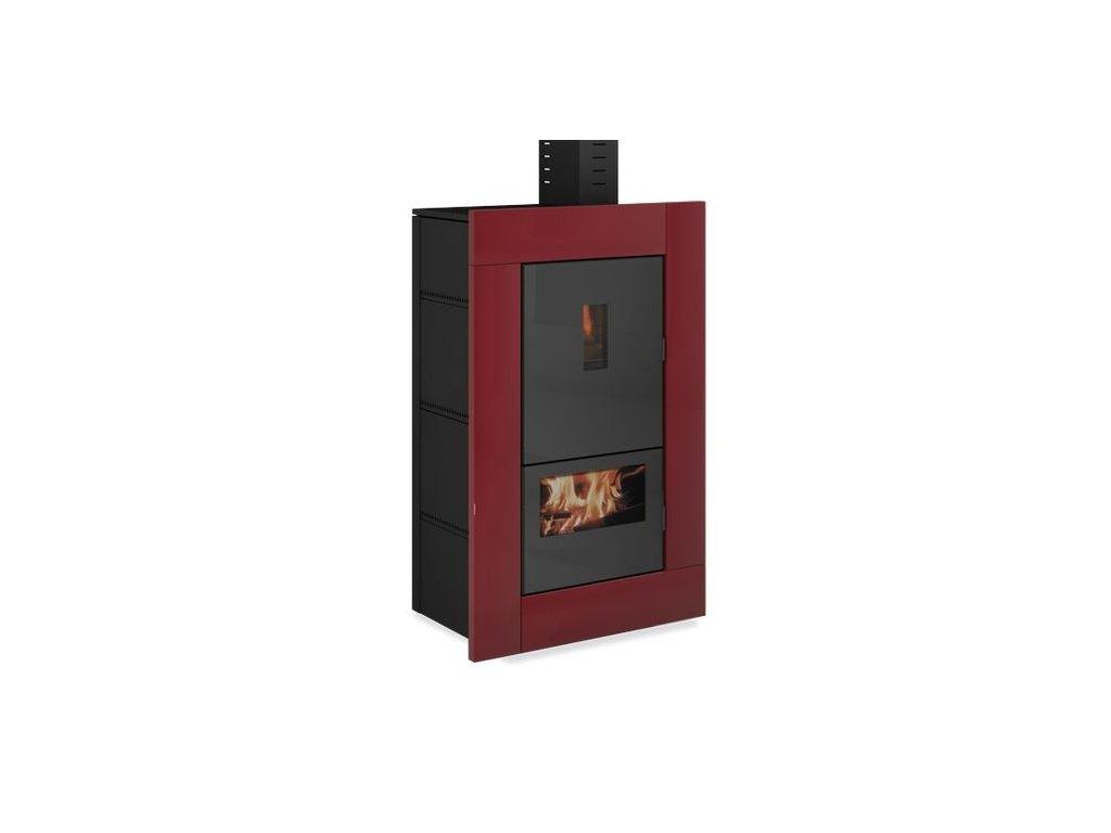 UNGARO BI FUEL W - Krbová kamna na dřevo a pelety s teplovodním výměníkem