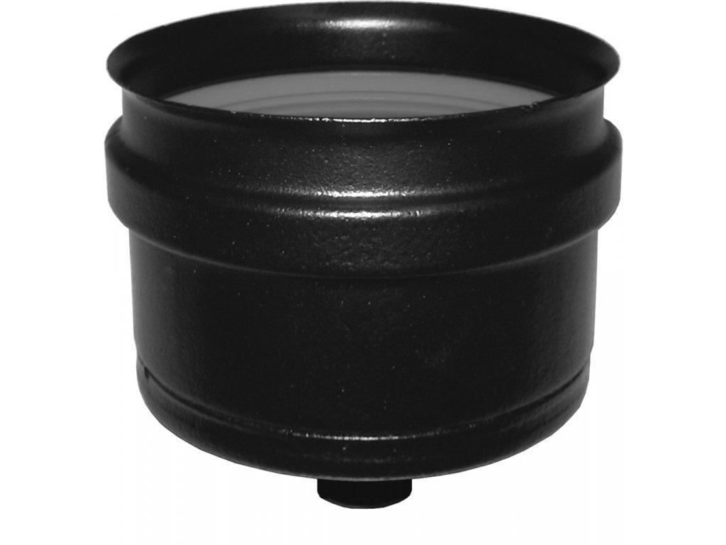 Zátka s kondenzačním otvorem 80 mm - kouřovody pro peletová kamna