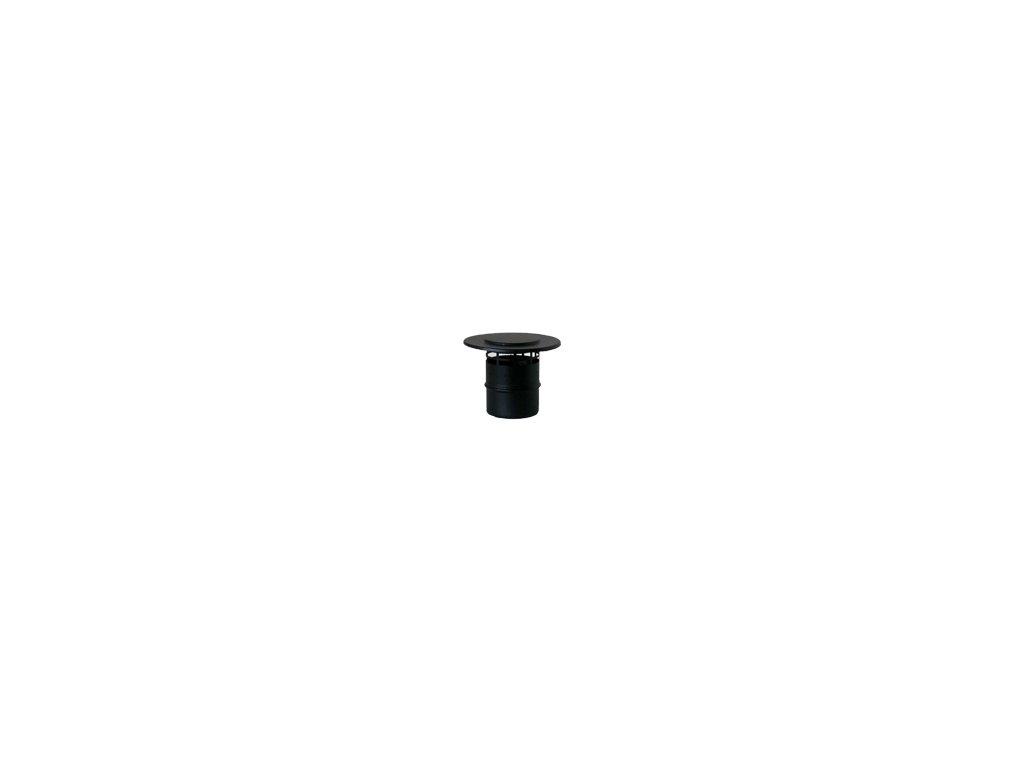 Koncová hlavice 100 mm - kouřovod pro peletová kamna