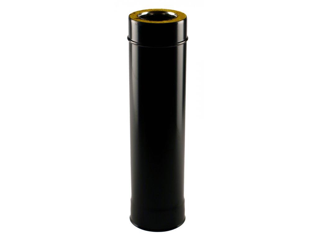 Izolovaná roura 80/130/2000 mm - kouřovod pro peletová kamna