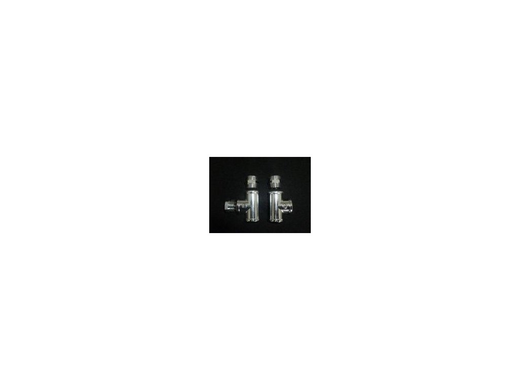 Chromové šroubení 3/4 k tlakovým kamnům  Z100