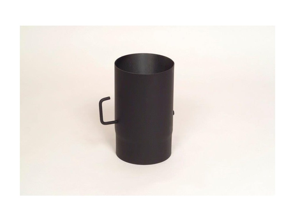 MORAFIS kouřovod - trubka s klapkou Ø150/500 mm