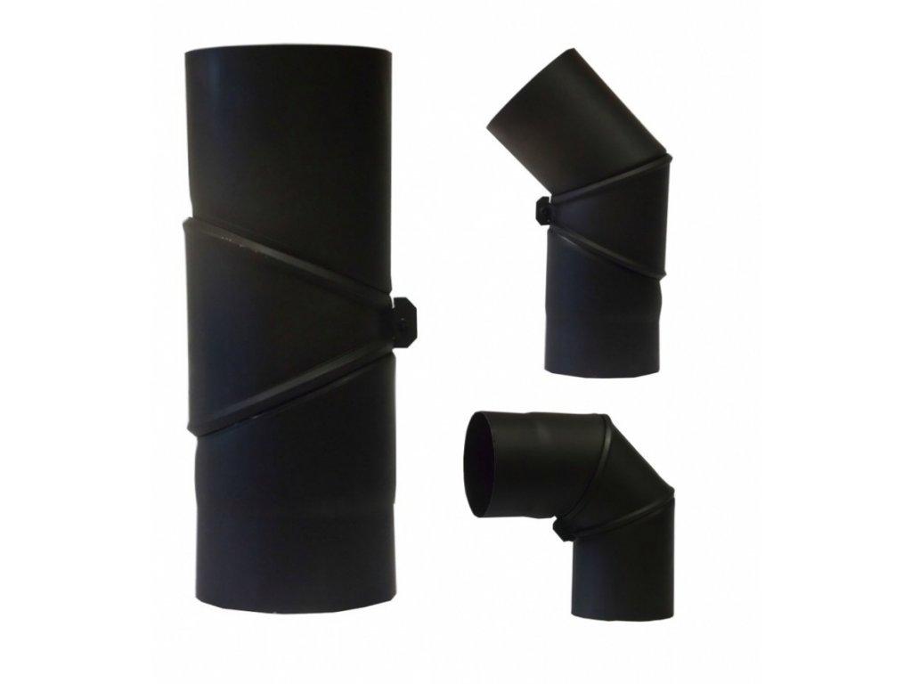 MORAFIS kouřovod - koleno otočné Ø150mm/90-180°