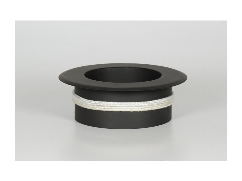MORAFIS kouřovod - redukce do keramických komínů Ø150/120 mm s kroužkem
